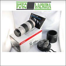 Canon EF 70-200 f 4 L IS USM stabilizzato  ⭐️⭐️⭐️⭐️⭐️