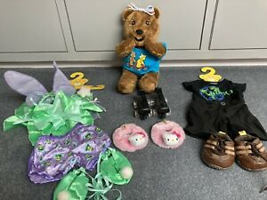 Build A Bear 'Blush' Children In Need Bear Plus Outfits And Accessories