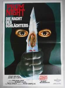 """""""PROM NIGHT - Die Nacht des Schlächters"""" - Horror - Original Filmplakat DIN A 1"""