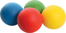 4 x FOAM SPONGE BALLS - SOFT PLAYBALL 20cm - IDEAL KIDS BALL