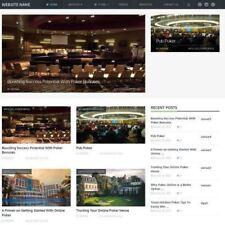 POKER shop-business online sito web per la vendita + Dominio + Hosting + Amazon