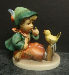 Vintage M J Hummel Figurine # 63 'Singing Lesson'