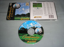 Microsoft Golf Championship Course: Cog Hill & Country Club PC Computer Game CD