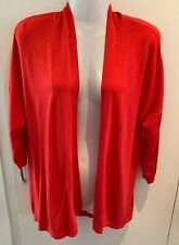 ladies red cardigan size 10 Marks Spencers M&S