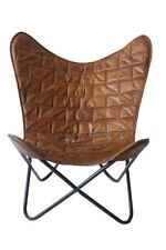 Kenny Chair Iron Stand and Leather Cover for Indoor Outdoor Chair