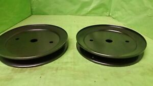 NEW Set of 2 Spindle Pulley's 195945 197473 532195945 Free Shipping