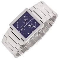 XEN Chronograph, komplett Edelstahl, WR50, Datum, Schroll Design, NEU+OVP