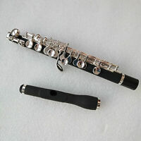 Excellent Piccolo C Key Silver Plated Nice Sound Composite Wood