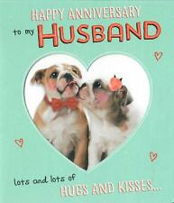 Happy Anniversary To My Husband, Stunning Cut Out Anniversary Card