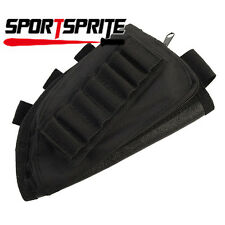 Tactical Gun Buttock Ammo Pouch Military Rifle Stock with Cheek Leather Pad