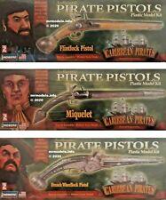Lindberg 1/1 Authentic Pirate Pistol Caribbean Pirates New Plastic Model Kit 1 1