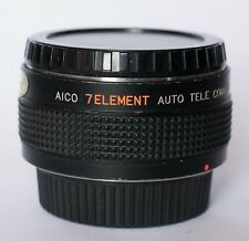 Aico 7 elemento 2x Tele para caber Pentax K.