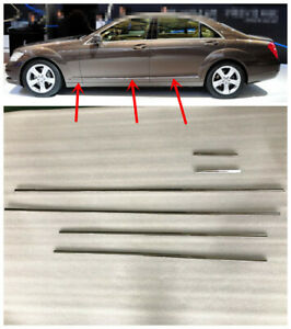 W221 Door Chrome Molding  6PCS for Mercedes Benz S class 2010-2013