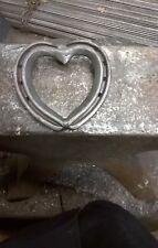 Blacksmith Made Lucky Horseshoe Heart - Wedding / New Home / Christmas Gift