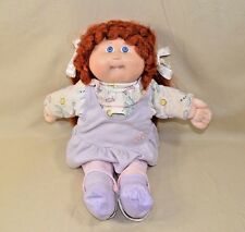 Vintage Cabbage Patch Kids Doll  Red Hair Blue Eyes One Tooth