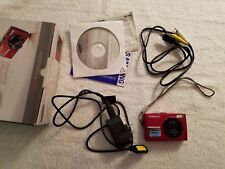 Samsung L200 Camera Red Charger Transfer CD Battery Works