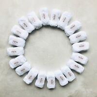 1kg WHITE 100% Mercerised Egyptian cotton dk yarn gift set Oeko-Tex® amigurumi