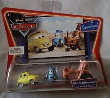 Disney Pixar Cars LUIGI GUIDO TRACTOR Movie Moments (Supercharged) 1:55 Diecast