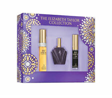 Elizabeth Taylor Collection White Diamonds Night , Passion EDT 0.5 oz - 3 pc Set