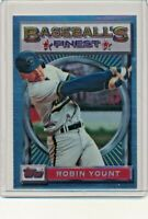 1993 Topps Finest #192 Robin Yount Milwaukee Brewers