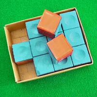 Green/Blue New 2 pcs billiard Pool Cue Tip Chalk For Chalk Holder-snooker chalk