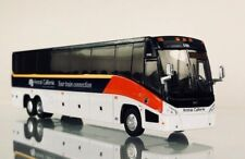 Mci J4500 Amtrak California Diecast model bus Ho- 1:87 Scale Nib Iconic Replicas
