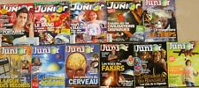 Lot de 11 revues SCIENCE ET VIE JUNIOR - 2003 2204 et 2009