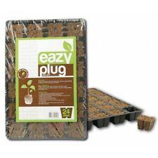 Eazy Plug Vassoio 24 Cubi da Germinazione Biodegradabili in Torba e Cocco