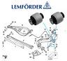 BMW 3 X3 Z4 Series E46 E36 E85 E83 REAR LOWER CONTROL ARM TRAILING BUSH L+R LEMF
