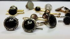 Lot of Antique Studs Some Signed Krementz Gold FIlled and more Vest Buttons Mens