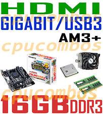 COMBO AMD FX-6300 CPU+16GB DDR3 RAM+GIGABYTE GA-78LMT-USB3 HDMI USB3 Motherboard