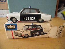 DDR Modellauto Reh 55-66 Ehri Police Schwunglaufwerk OVP M 1:30