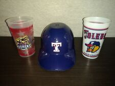 Toledo Mud Hens Souvenir Helmet and Cups