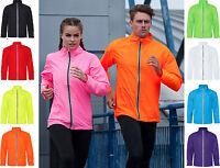 AWDis Unisex Waterproof Windproof Lightweight RUNNING Cycling JACKET many Colour