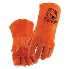 Black Stallion 110 Standard Split Cowhide Stick Welding Gloves Large