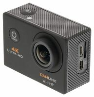 4K Action Cam Kamera UHD CAMLINK 16MP schwarz wasserdicht unterwasser bis 30m