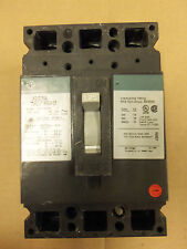GE TED TED134125V TED134125 3 POLE 125 AMP 480V CIRCUIT BREAKER GREEN