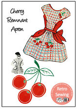 1950's Cherry Apron Pattern - Copy