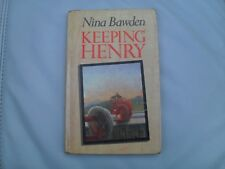 NINA BAWDEN - Keeping Henry (1st edition 1988)