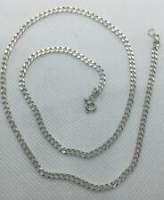 Sterling Silver 18 INCH Curb Chain - Wear Not Scrap
