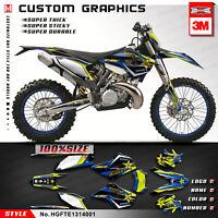 Custom Graphics Sticker Kit for Husaberg TE FE 125 250 300 350 450 501 2013 2014