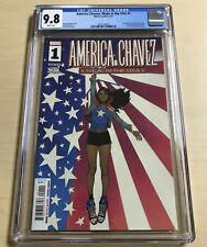 AMERICA CHAVEZ #1 (CGC 9.8) Made in America/1st Print/Marvel Comics