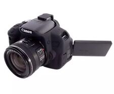 easyCover Canon 650D/700D/T4i/T5i Black Silicone Protective Skin Camera Cover