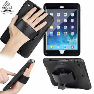 Gorilla Tech Impact Resistant Protective Survivor Hand Strap Case for Apple iPad