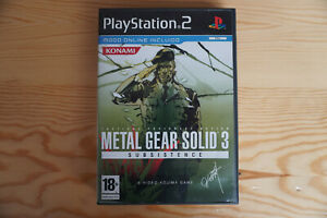 Metal Gear Solid 3: Subsistence (Sony PlayStation 2, 2006) PAL España