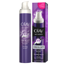 OLAY  2 IN 1 ANTI WRINKLE BOOSTER + FIRMING SERUM WITH SKIN RENEWAL COMPLEX