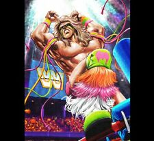 """WWE ULTIMATE WARRIOR LIMITED EDITION COLLECTOR BOX """"11X14 Poster"""" AEW WcW NJPW"""