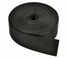 Black Nylon Heavy Webbing Strap with Cosmos Fasteni