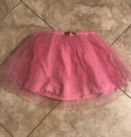 J Crew Crew Cuts Pink Tulle Skirt Size Toddler Girls Size 3