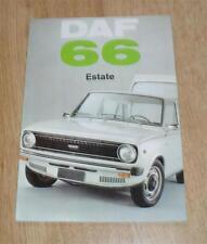 Daf 66 Estate Brochure 1973 - 1100cc UK Market